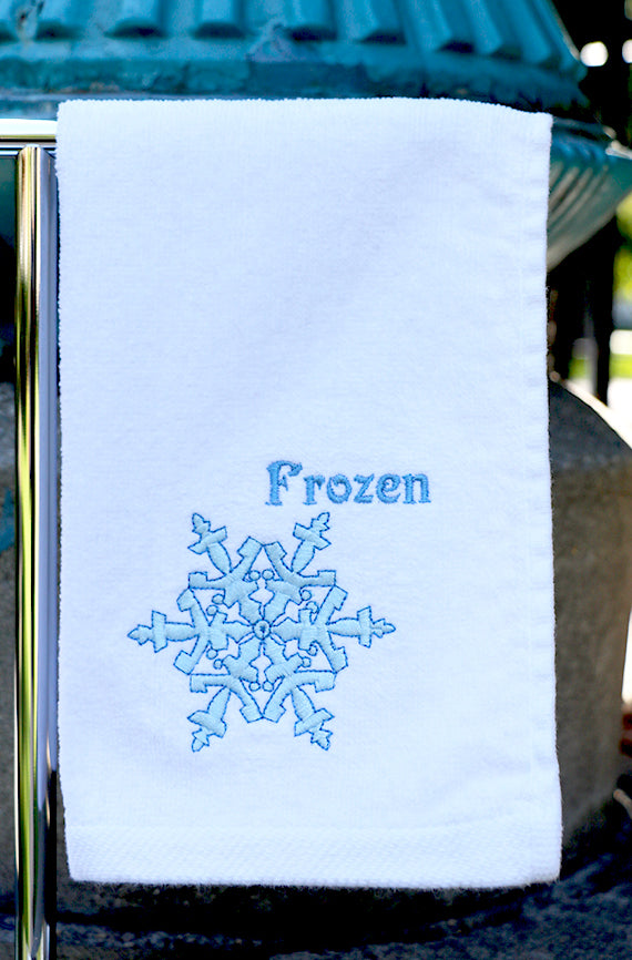 Frozen Skating Towel