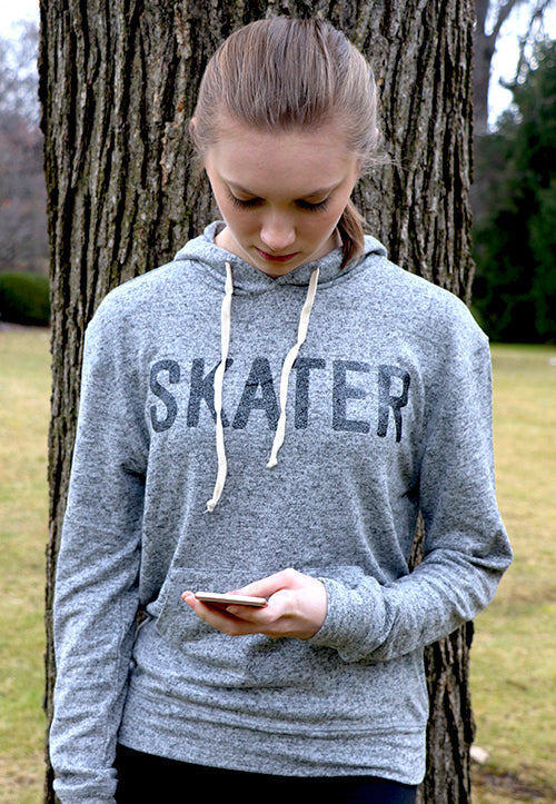 Skater Brushed Hoodie (Ladies)
