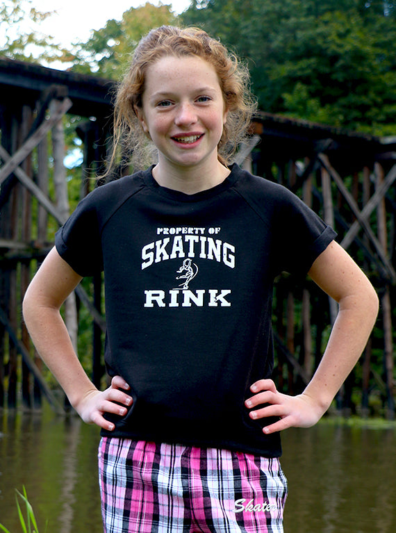 Property of Skating Rink Short-Sleeve Sweatshirt (Youth)