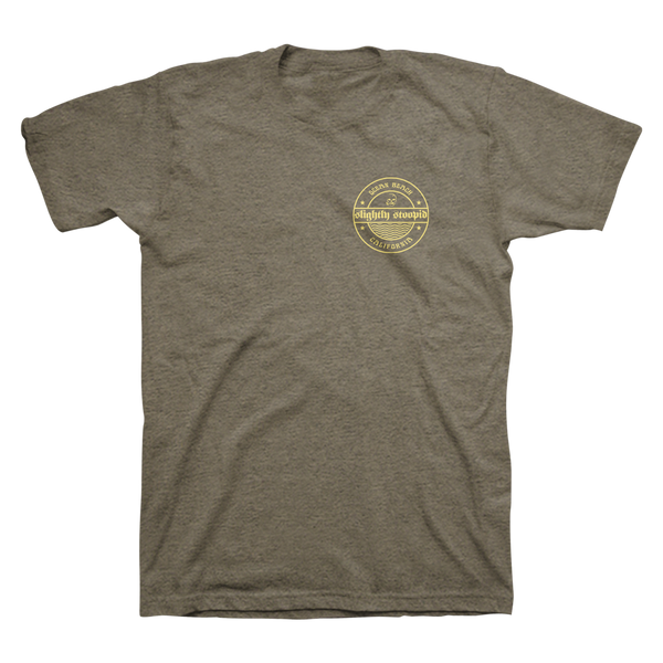 New Waves Unisex Tee - Military Green