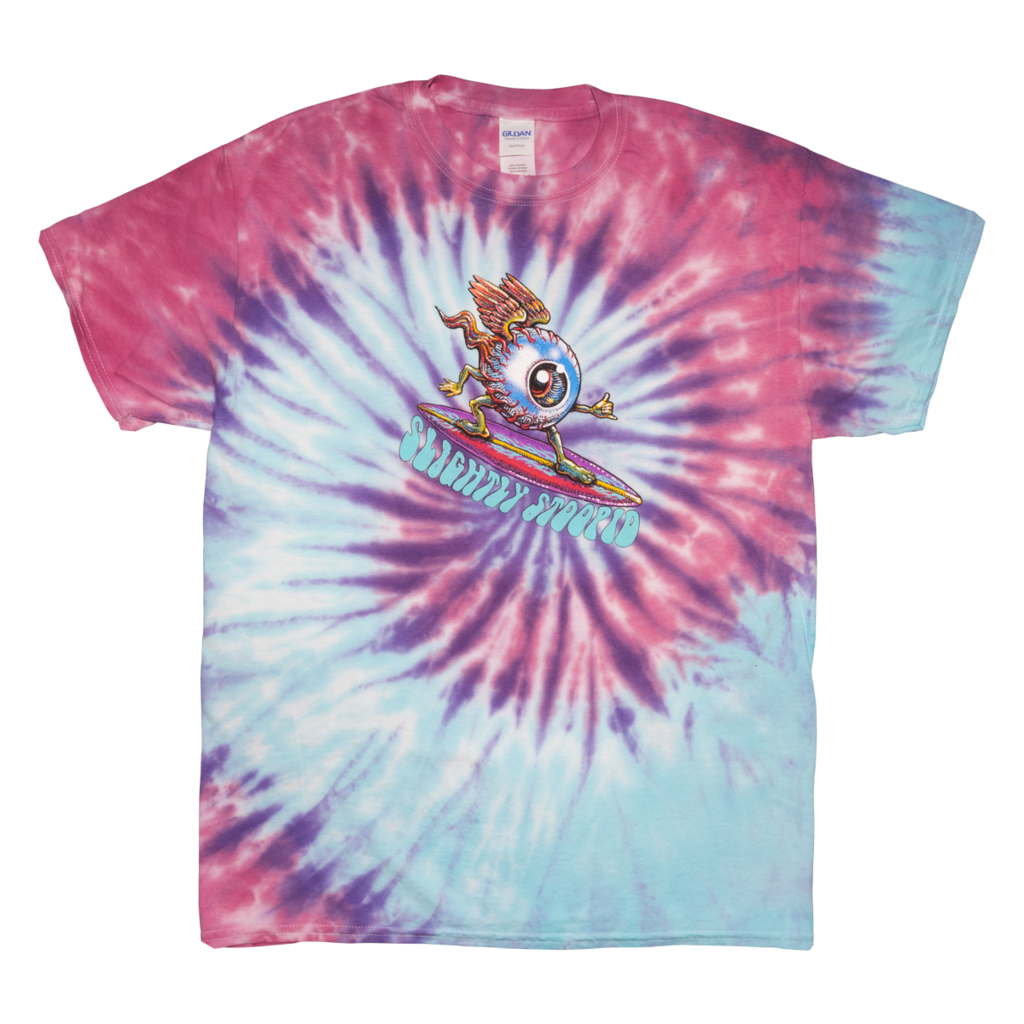 Surfing Eyeball Tie Dye Toddler & Youth Tee