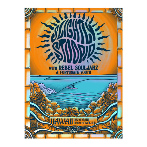 Hawaii 2019 Event FOIL Poster