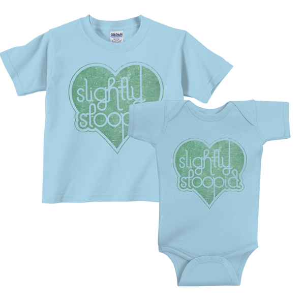 Heart Onesie & Toddler Tee