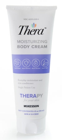 THERA Moisturizing Body Cream  -  4 fl. oz. (118 mL) Tube - CheapChux