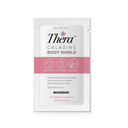 THERA  Calazinc Body Shield - 144/4g packets - CheapChux