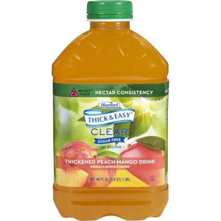 Hormel Thick & Easy Sugar Free Peach Mango Flavor Ready to Use Nectar Consistency - 46 oz