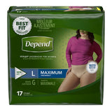 Depend FIT-FLEX® Underwear for Women - CheapChux