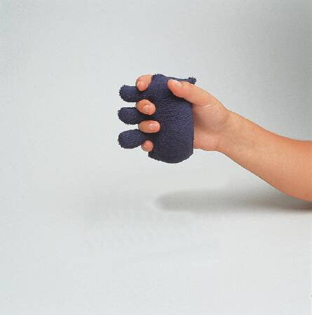 Hand and Finger Exerciser Finger Contracture Cushion Black , Soft 5x4 - CheapChux