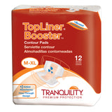 Tranquility  TopLiner Booster Contour Pad and Super-Plus Contour Pad  - Incontinence Pads