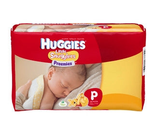 Pediatric Diaper Huggies Up to 6 Pound Premie Maximum Absorbency - CheapChux