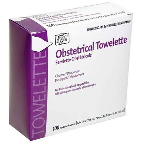 Obstetrical Towelettes