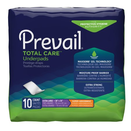 Prevail Premium super Aborbent Extra Large Underpad -Fluff 30x36 - CheapChux