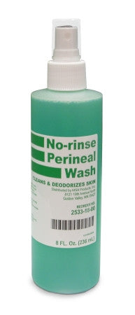 Perineal Wash MSA Liquid, No Rinse 8 oz. Spray - CheapChux