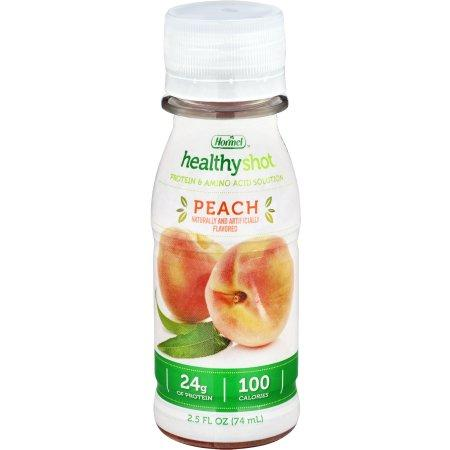 Healthy Shot Oral Protein Supplement - Peach 2.5 oz