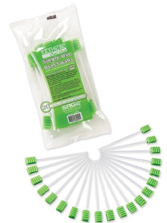 Toothettes Swabstick with Sodium Bicarbonate Pack/ 20 - CheapChux