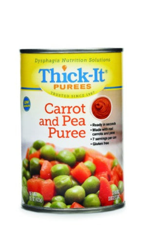 Thick-It Carrot and Pea Ready to Use Puree, 15 oz cans, Case of 12 - CheapChux