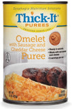 Thick-It Sausage Cheese Omelet Ready to Use Puree, 15oz Cans, Case of 12 - CheapChux