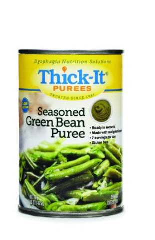 Thick-It Seasoned Green Beans Ready to Use Puree, 15oz cans, Case of 12 - CheapChux