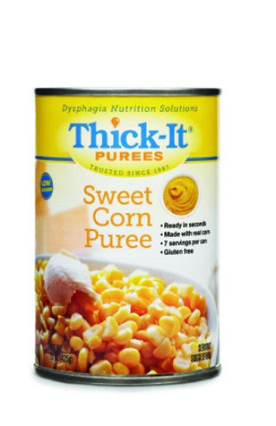 Thick-It Sweet Corn Ready to Use Puree, 15oz Cans, Case of 12 - CheapChux