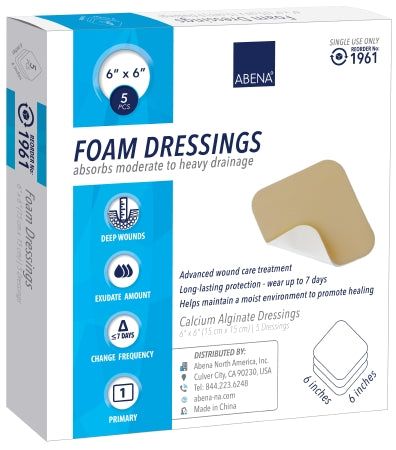 "Abena Foam Dressing 6""x6"" - CheapChux"