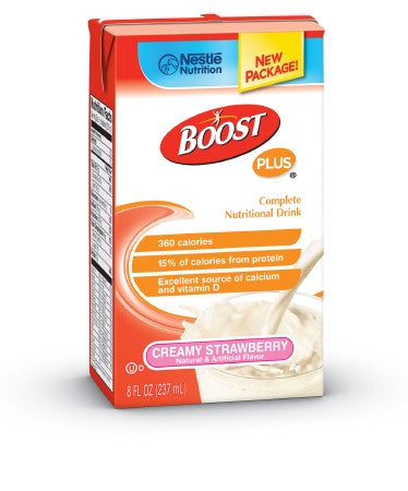 Boost Plus, 8 oz, Strawberry - CheapChux