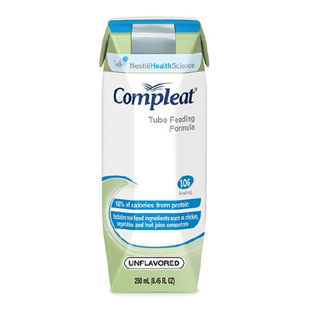 Tube Feeding Formula Compleat 250 mL Carton Ready to Use - CheapChux