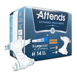 Attends Extended Wear Brief - Adult Diaper - CheapChux