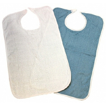 Beck's Classic Adult Terry Cloth Bib 18x34 - CheapChux