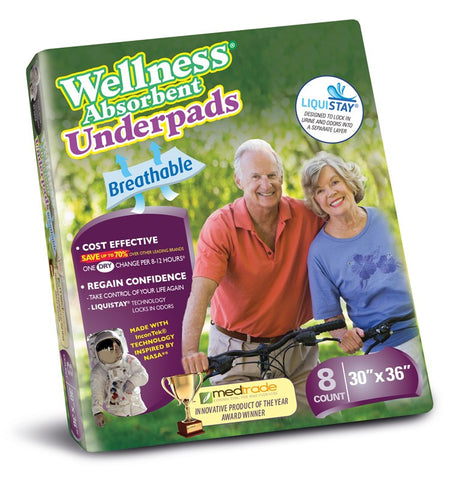 Unique Wellness Absorbent Underpads