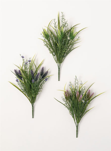 Lavender/Grass Bush