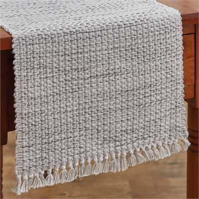 Basketweave Table Runner - Cotton