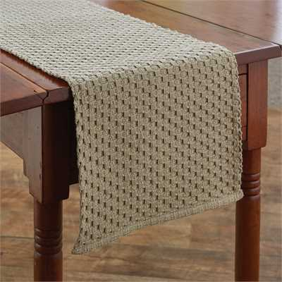 Chadwick Table Runner - Flax