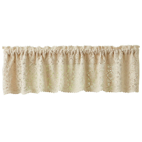 Lace Valance - Cream