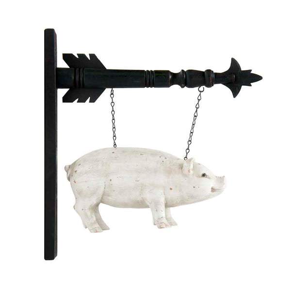 13 Inch White Resin Pig Arrow Replacement
