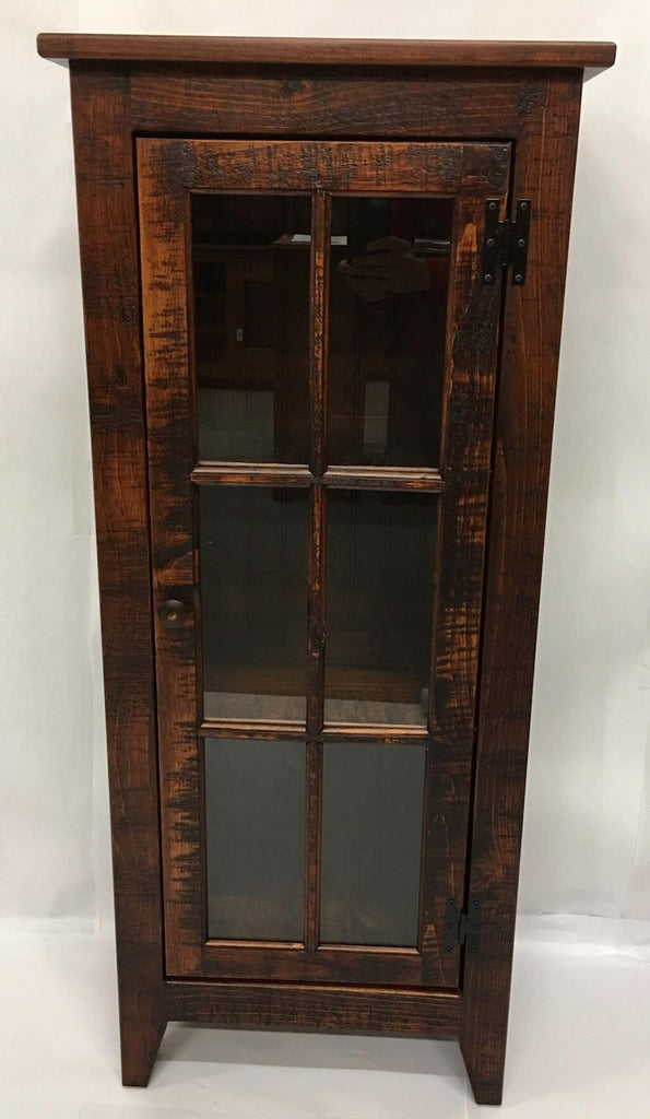 Michael's Cherry Rustic Display Cabinet