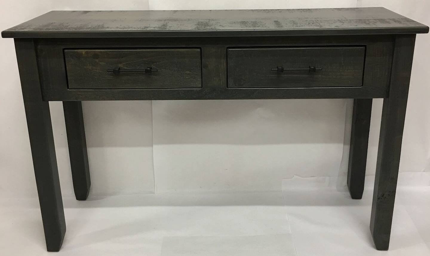 Antique Slate Rustic Hall Table