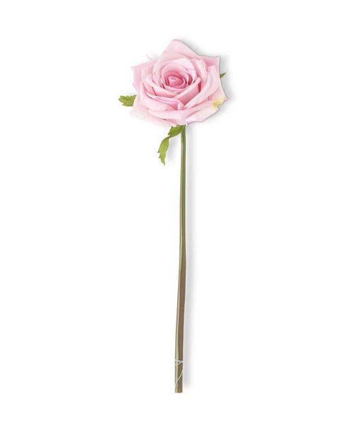 Pink Real Touch Rosebud Stem