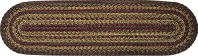 "Cinnamon 13"" x 48"" Braided Table Runner"