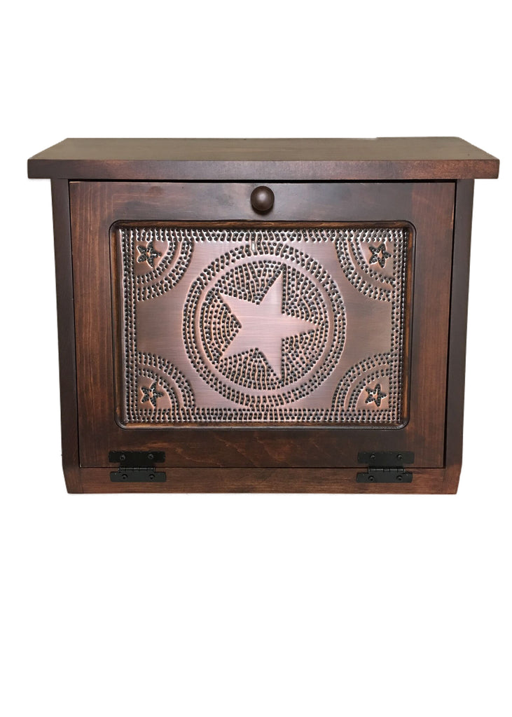 Boston Bread Box with Copper Star Tin