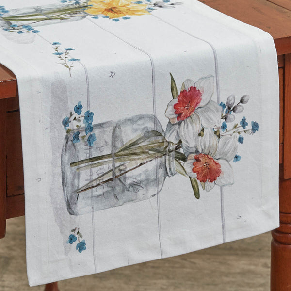 Farmhouse Spring Table Runner