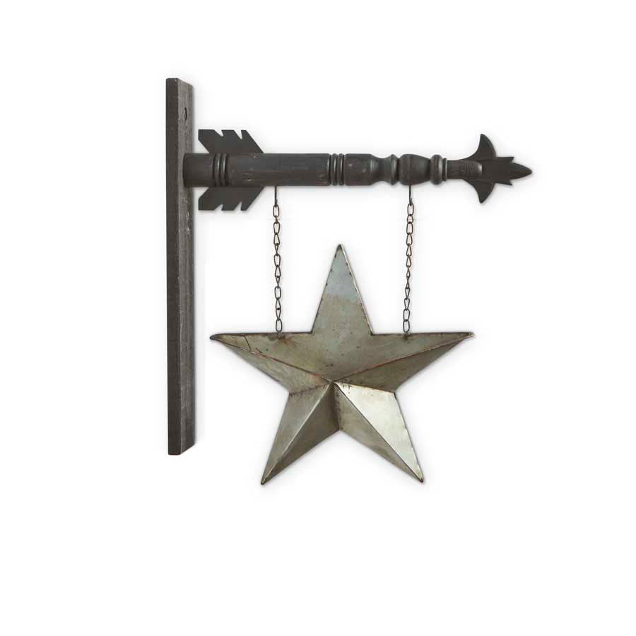 Two-Sided Tin Pocket Star Arrow Replacement