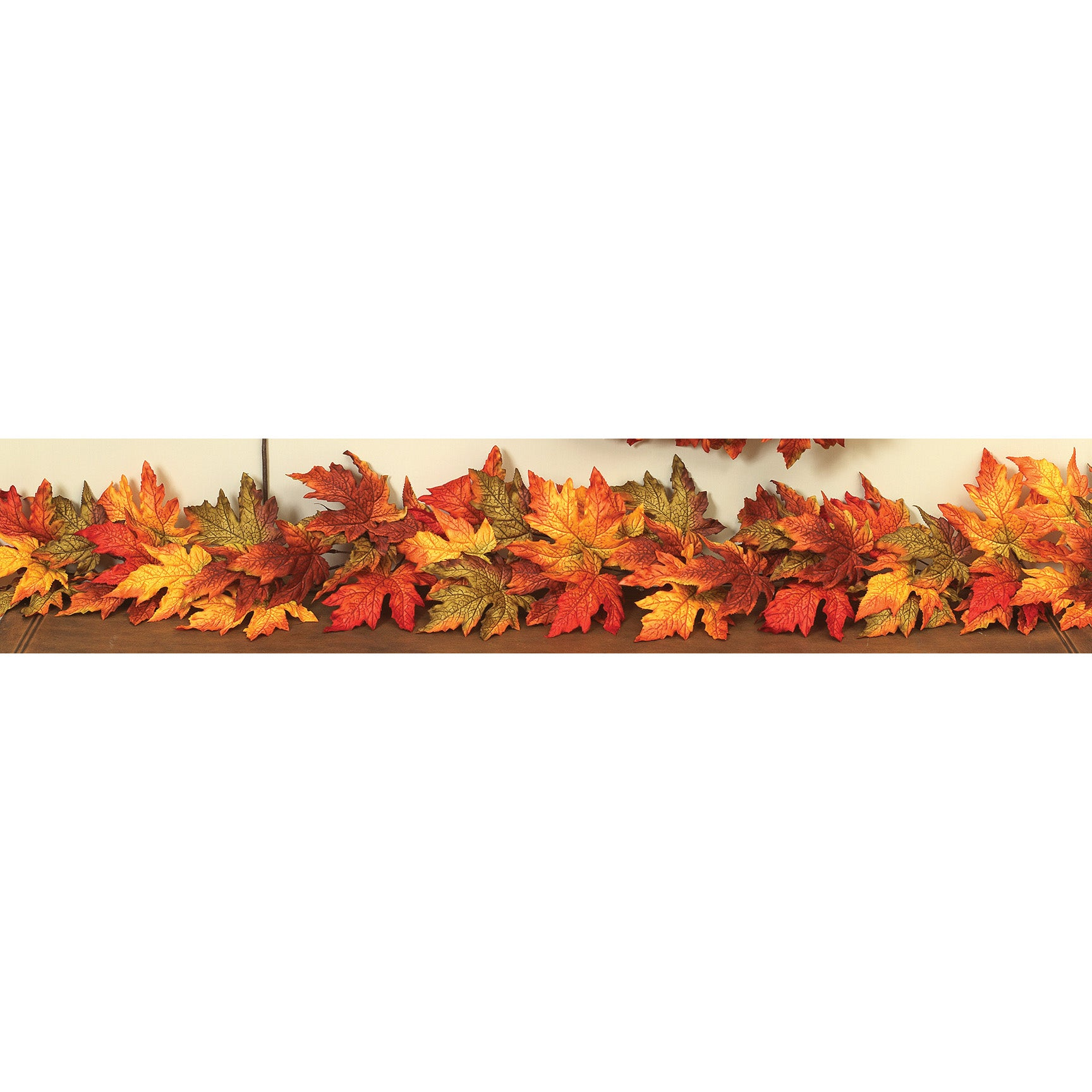 6 L Mixed Maple Leaf Garland Kc Collections