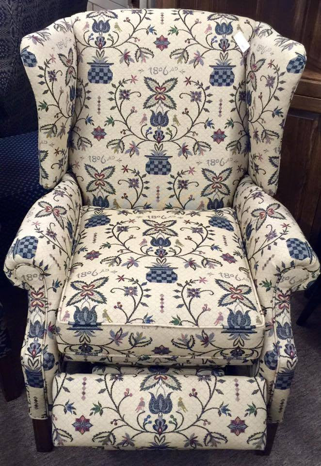 Black Johnson Recliner