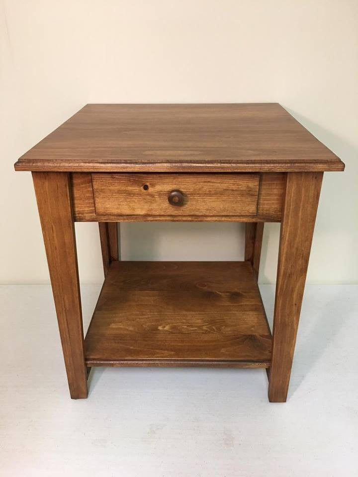 Seely End Table with Drawer
