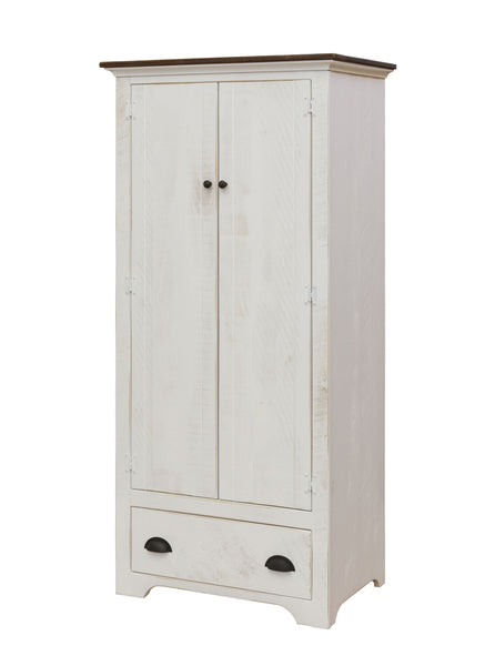 Armoire with Clothes Rod