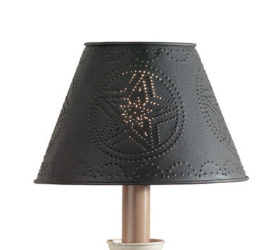 "10"" Metal Star Shade -Black"