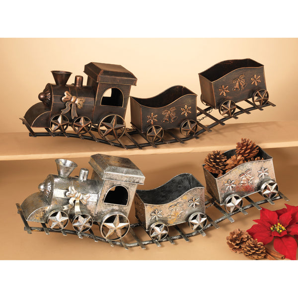 Metal Holiday Train 29""