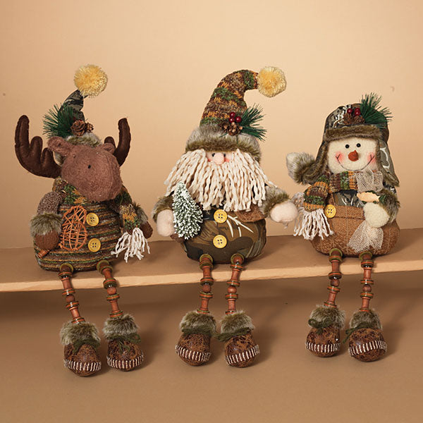 "14""H Plush Holiday Camouflage, Assorted"