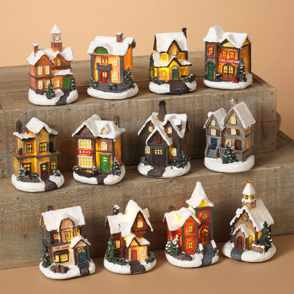 LED Holiday House - Assorted