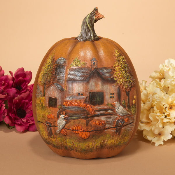 Resin Harvest Pumpkin